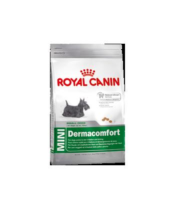 Karma dla psów o skórze wrażliwej Mini Dermacomfort 800g Royal Canin