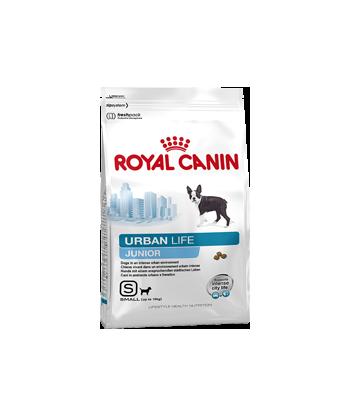 Karma dla szczeniąt żyjących w mieście Urban Life Junior Small 0,5kg Royal Canin