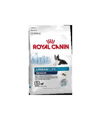 Karma dla psów żyjących w mieście Urban Life Senior Small 0,5kg Royal Canin