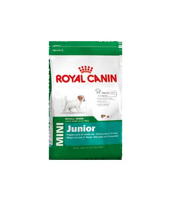 Karma dla szczeniąt Mini Junior 800g Royal Canin