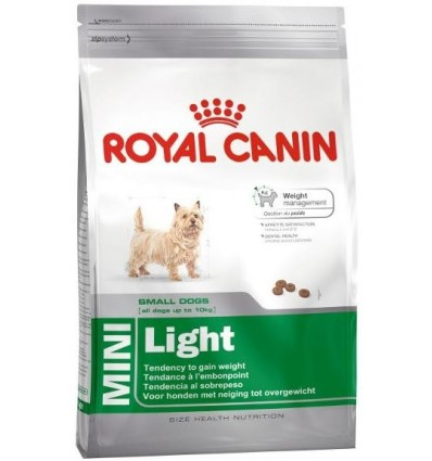 Karma dla psów Mini Light 800g Royal Canin