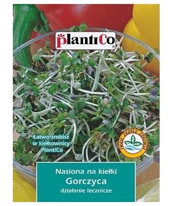 Nasiona na kiełki - Gorczyca 20g PlantiCo
