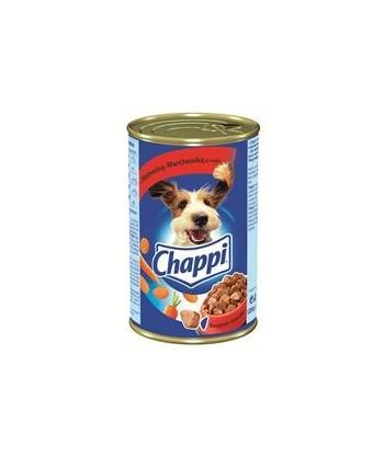 Karma dla psa puszka wołowina, marchewka 400g Chappi