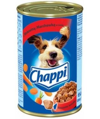 Karma dla psa w puszce wołowina 1200g Chappi