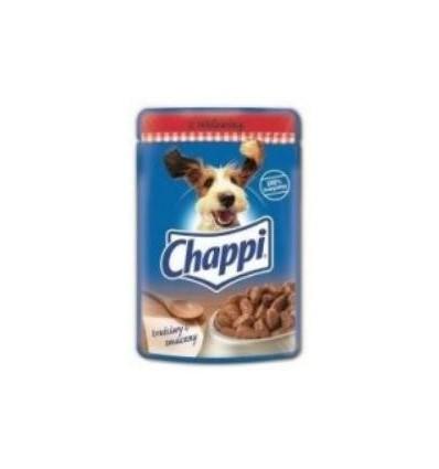Saszetka dla psa wołowina w sosie 100g Chappi