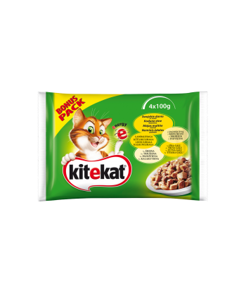 Karma dla kota saszetka swojskie dania w sosie 4x100g Kitekat