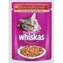 Karma dla kota saszetka wołowina 100g Whiskas