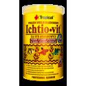ICHTIO-VIT pokarm podstawowy w płatkach dla rybek puszka 250ml/50g Tropical
