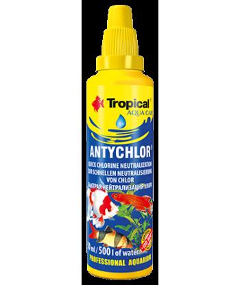 ANTYCHLOR preparat do uzdatniania wody akwariowej 30ml Tropical
