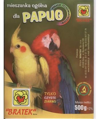 Pokarm dla papużki falistej Bratek 500g