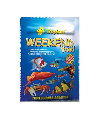 WEEKEND FOOD pokarm dla ryb ozdobnych 20g Tropical