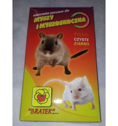 Pokarm dla myszy i myszoskoczka Bratek 500g