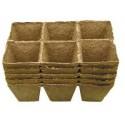 Doniczki torfowe kwadratowe 8x8/30 JIFFY