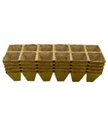 Doniczki torfowe kwadratowe 5x5/60 JIFFY