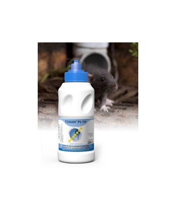 Płynna trutka na myszy i szczury 200ml TOXAN