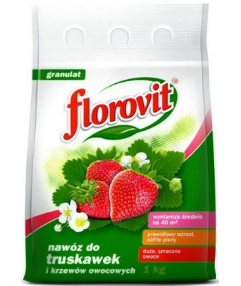 Nawóz FLOROVIT truskawka i poziomka 1kg