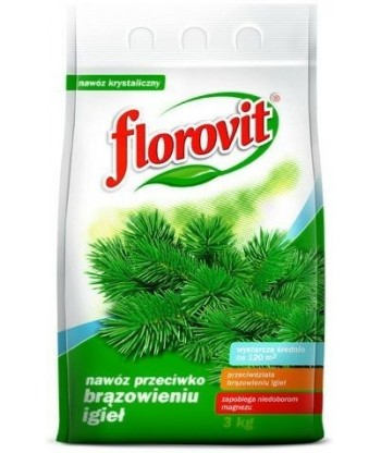 Nawóz FLOROVIT przeciw brązowieniu igieł 3kg
