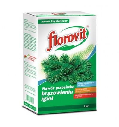 Nawóz FLOROVIT przeciw brązowieniu igieł 1kg