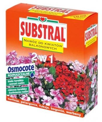Nawóz Magiczna Siła do kwiatów BALKONOWYCH 2 w 1 SUBSTRAL 200g