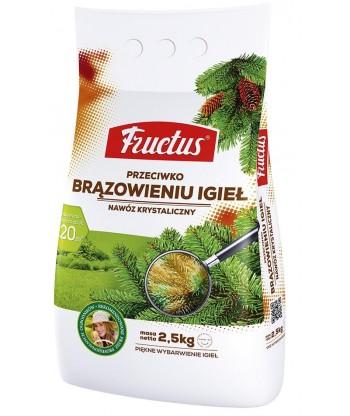 Nawóz FRUCTUS przeciwko brązowieniu igieł 2,5kg
