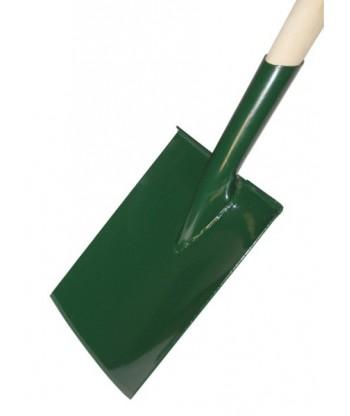 Szpadel szpiczasty ze stopą 180mm oprawny KARD