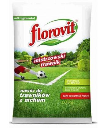Florovit nawóz do trawników z mchem - Mistrzowski Trawnik 10 kg