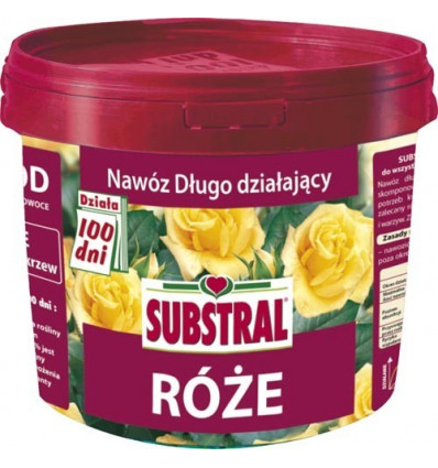 Nawóz DO RÓŻ 100 dni SUBSTRAL 5kg