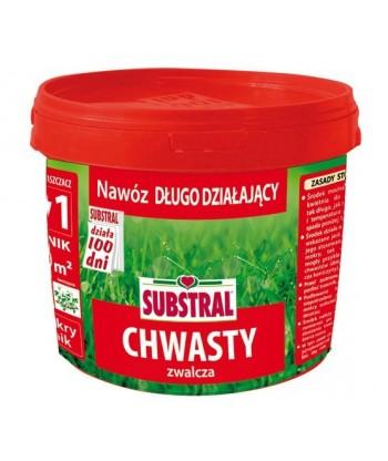 Nawóz do trawy zwalcza chwasty 100 dni Substral 5kg