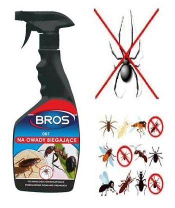 007 na owady biegające 500ml BROS