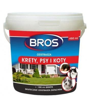 Odstraszacz na krety, psy i koty BROS 450ml