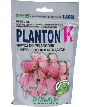 Nawóz do Pelargonii PLANTON K 200g