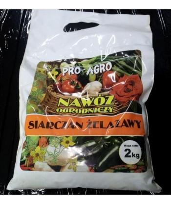 Nawóz na mech w trawniku Siarczan Żelazawy suszony 2kg