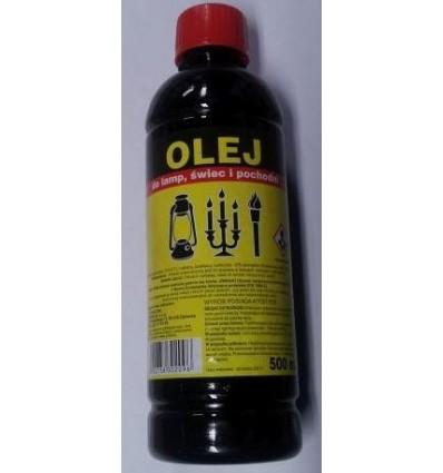 Olej parafinowy do lamp, świec i pochodni 0,5L