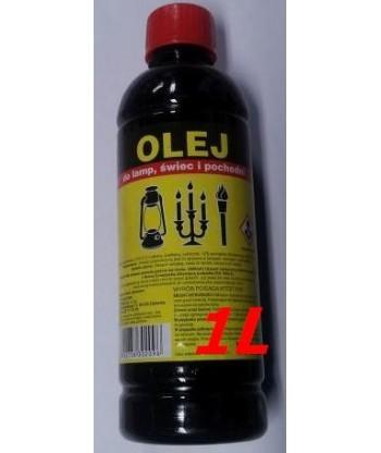 Olej parafinowy do lamp, świec i pochodni 1L