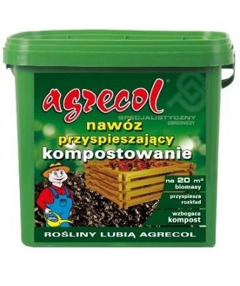 Nawóz przyspieszający kompostowanie komposter 5kg Agrecol