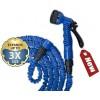 Zestaw ogrodowy wąż TRICK HOSE 7,5m-22m niebieski