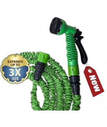 Zestaw ogrodowy wąż TRICK HOSE 5m-15m niebieski