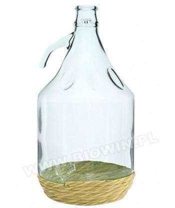 Balon na wino 5l Dama+zakrętka