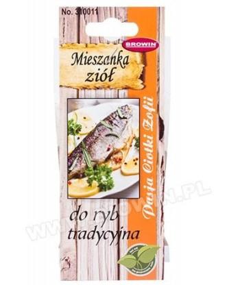 Pasja ciotki Zofii tradycyjne zioła do ryb 23,2g BIOWIN