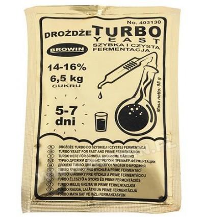 Drożdże gorzelnicze Turbo 72h 120g BIOWIN