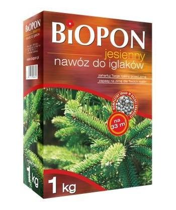 Biopon 1kg jesienny do iglaków