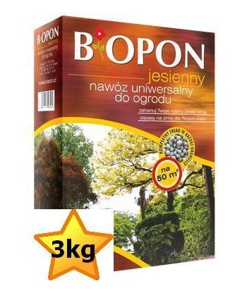 Biopon 3kg jesienny uniwersalny