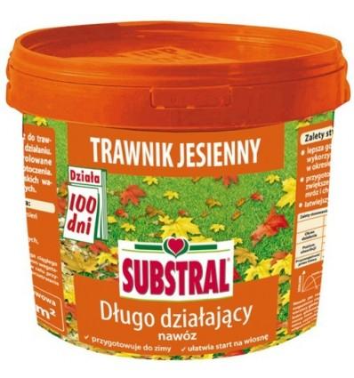 Nawóz DO TRAWNIKA JESIENNY 100 dni SUBSTRAL 5 kg