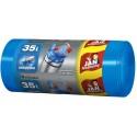 Worki na śmieci EASY PACK niebieskie 35L 30 szt. JAN NIEZBĘDNY