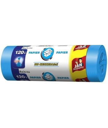 Worki do segregacji papieru 120L 10 szt. JAN NIEZBĘDNY