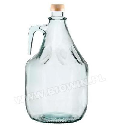 Balon na wino 3l Dama+zakrętka