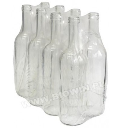 Butelka na wino 0,75L biała BIOWIN