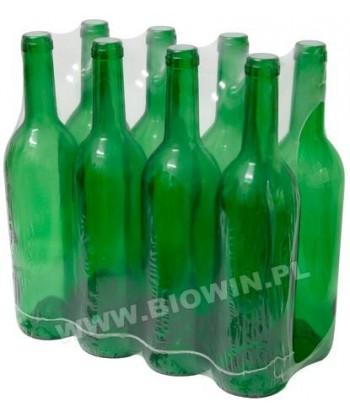 Butelka na wino 0,75L oliwkowa BIOWIN