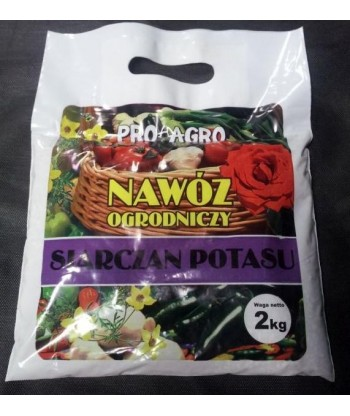 Nawóz siarczan potasu granulowany 2kg PRO-AGRO