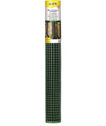 Siatka ogrodowa Quadra 1,2x50m oczko 10mm zielona LUSTAN